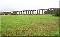 NH7644 : Clava Viaduct over the River Nairn by Bob Embleton