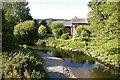 SJ1823 : Afon Tanat near Llangedwyn by Peter Craine