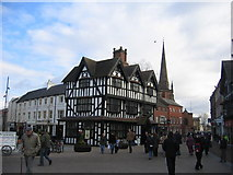SO5140 : Hereford Market Place by David Stowell