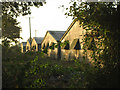 TM2390 : Low light on poultry farm gables by Zorba the Geek