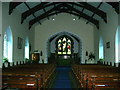 NY1525 : The Parish Church of St Cuthbert, Lorton, Interior by Alexander P Kapp