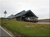 SH7783 : Great Orme Tramway midway station by David Stowell