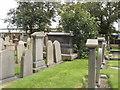 NJ9506 : Graveyard of St Clement's Church, Aberdeen by David Hawgood