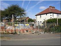 SE1321 : Building site, Hanson Road, Rastrick by Humphrey Bolton