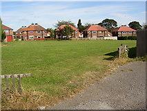 SE1321 : Open space, Field Lane Estate, Rastrick by Humphrey Bolton