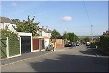 SE1421 : Atherton Lane, off Woodhouse Lane, Rastrick by Humphrey Bolton