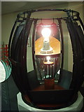 NJ9967 : Concave mirror, Scottish Lighthouse Museum by David Hawgood