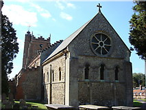 TL7835 : St. Nicholas' Church, Castle Hedingham by Oxyman