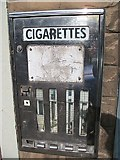 NT9261 : Old cigarette machine by Richard Webb