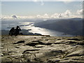NN3602 : Summit of Ben Lomond, looking southwest by Stephen Sweeney
