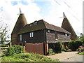 TQ8349 : Parsonage Oast, East Sutton Hill, East Sutton, Kent by Oast House Archive