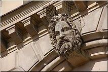 J3474 : Head, Custom House, Belfast (2) by Albert Bridge