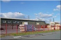 SO1110 : Century Homes industrial unit, Tafarnaubach by Robin Drayton