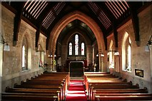 SK8770 : All Saints' church nave by Richard Croft
