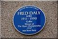 C8640 : Fred Daly plaque, Portrush by Albert Bridge