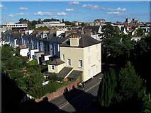 SX9193 : View From St. David's Church Tower by Geoff Pick