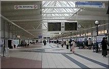 SE1632 : Bradford Interchange - Upper Concourse by Betty Longbottom