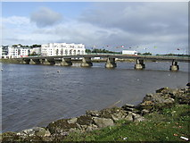 S7127 : The Barrow Bridge, New Ross by Jonathan Billinger