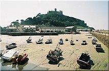 SW5130 : St. Michael's Mount: harbour by Chris Downer