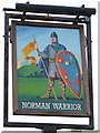 TM5394 : The Norman Warrior sign by Keith Evans
