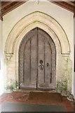 TF9434 : South Doorway by Richard Croft