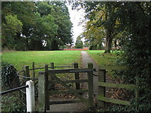SK6514 : Footpath into Rearsby by Tim Heaton