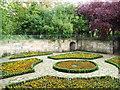 NS5463 : Sunken garden by Thomas Nugent