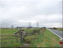 ND1266 : Electricity Sub Station on the A9 by Bill Henderson