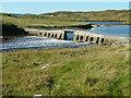 NB1436 : Footbridge at Bhalasaigh by Dave Fergusson