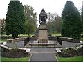 SE1234 : Ladyhill Park War Memorial - Allerton Road by Betty Longbottom