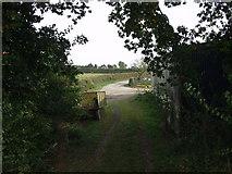 SJ2618 : Offa's Dyke LDP goes down Parson's Lane by John Haynes