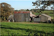 SX2591 : North Petherwin: farm buildings by Martin Bodman
