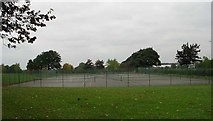 SE4422 : Tennis Courts - Pontefract Park by Betty Longbottom