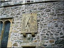 SD6592 : Sundial, St. Andrews Parish Church by David Seale