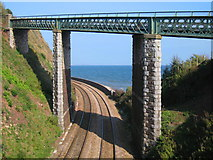 SX9473 : Road Rail and Sea by Paul Anderson