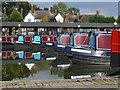SP7287 : Market Harborough Canal Basin by Mat Fascione