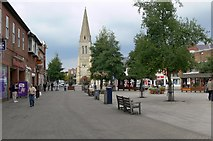 SP7387 : The Square, Market Harborough by Mat Fascione