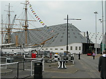 TQ7569 : Number 3 Covered Slip, Chatham Historic Dockyard by Danny P Robinson