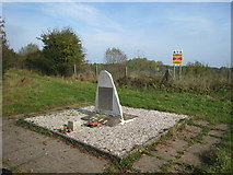 SK1827 : Fauld explosion memorial by David Stowell