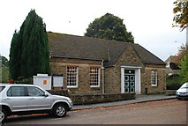 SK2572 : The village hall Baslow by Roger Temple
