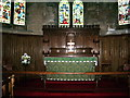 NY2231 : St John's Church, Bassenthwaite, Altar by Alexander P Kapp