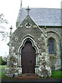 NY2231 : St John's Church, Bassenthwaite, Porch by Alexander P Kapp