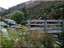SJ0124 : Footbridge at top of Cwm Llech by John