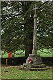 SO9312 : Brimpsfield War Memorial by Philip Halling