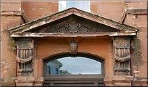 J3372 : The Union Theological College, Belfast (detail) (1) by Albert Bridge