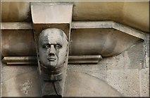J3372 : The Union Theological College, Belfast (detail) (3) by Albert Bridge