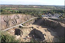 SK4023 : Breedon Quarry by David Lally