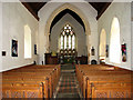 TG4214 : St Peter's Church, Clippesby - view east by Evelyn Simak