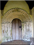 TM3898 : St Gregory's Church, Heckingham - detail by Evelyn Simak