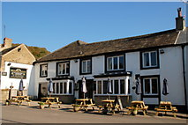 SK2276 : The Miners Arms Eyam by Roger Temple